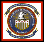 American College of Forensic Examiners - Logo